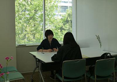 理系志望の女子中高大生、個別相談会 和光一般公開3
