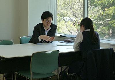 理系志望の女子中高大生、個別相談会 和光一般公開4