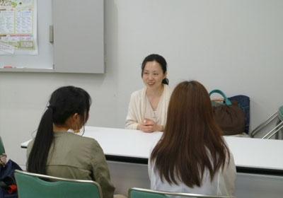 理系志望の女子中高大生、個別相談会 和光一般公開 写真2