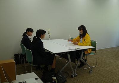 理系志望の女子中高大生、個別相談会 和光一般公開 写真1