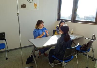 理系志望の女子中高大生、個別相談会 写真2