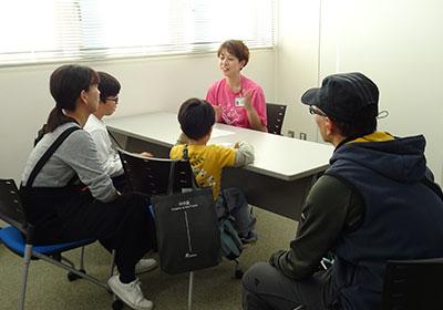 理系志望の女子中高大生、個別相談会 写真3